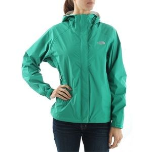 The North Face Turquoise Windbreaker Jacket